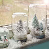 addobbi natalizi fai da te vasi albero