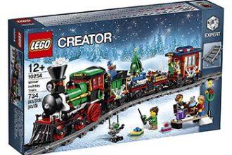 Treno di Natale Lego Creator